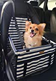 FANCYDELI Puppy Car Seat Upgrade Deluxe Portable Pet Dog Booster Car Seat