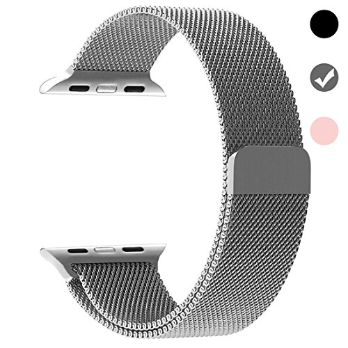 Cheap Smart Watch Bands Stainless Steel Band for Apple Watch Replacement Mesh Strap Bracelet for iWatch..