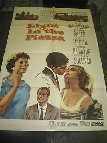 LIGHT IN THE PIAZZA/ORIG. U.S. ONE SHEET MOVIE POSTER (OLIVIA ()