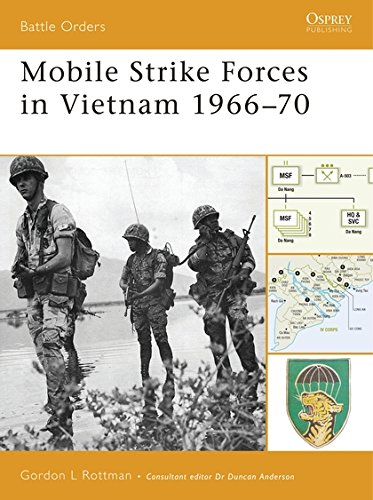 Mobile Strike Forces in Vietnam 1966–70 (Battle Orders)