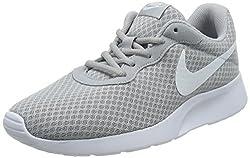 Nike Mens Tanjun Running Sneaker Wolf Greywhite 9