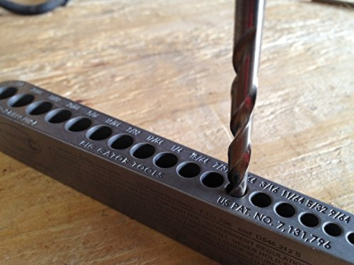 Big Gator Tools BGT V-Drill 3 Pack V-DrillGuides SAE Metric Sizes Set
