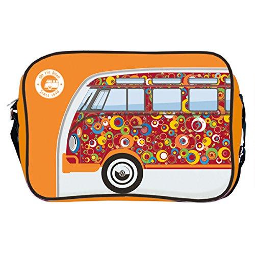 Producto oficial de diseño de Volkswagen furgoneta bolsa tipo bandolera de diseño de la naranja mecánica