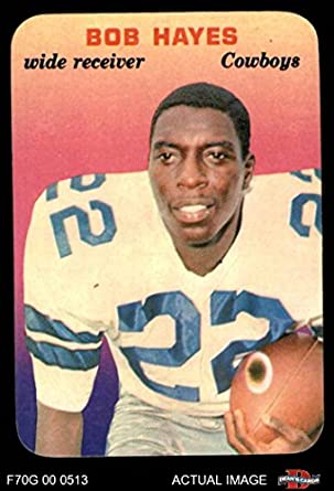 the latest 3cd1c cf4f7 Amazon.com: 1970 Topps Super Glossy # 7 Bob Hayes Dallas ...