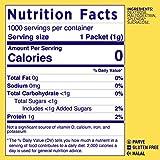Splenda No Calorie Sweetener Value Pack, 1000