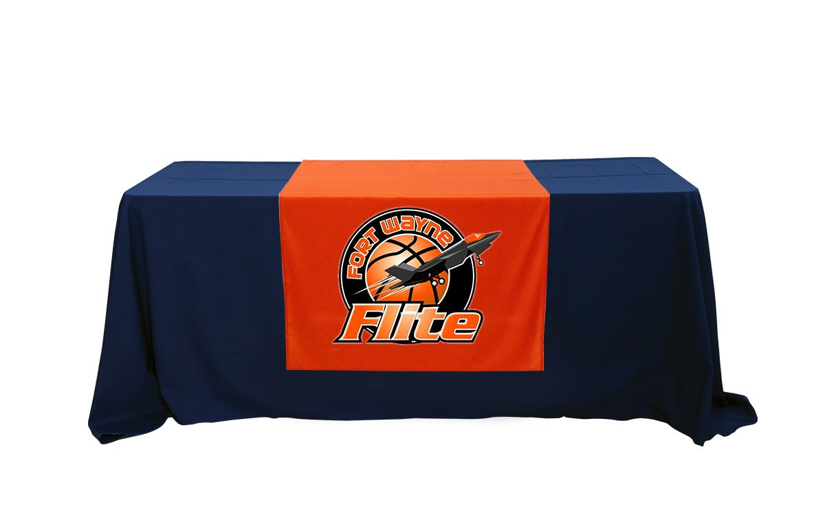 Amazon.com: Customized Table Runners 2' x 5.67' Free Design with using Your  Text and image: Home & Kitchen