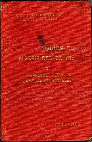 Livre gratuits Le massif des Ecrins pdf, epub