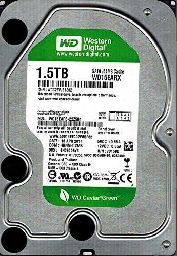 Western Digital WD15EARX-22Z5B1 1.5TB DCM HBNNHT2MB