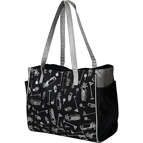 Womens Tote Bag Glove It Big Fashion Tote Bag for Women Womens Large Tote Bags with Zipper Pocket & Shoulder Strap Ladies Sport Totes, Work Tote, School Totebag 2018 Sangria