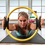 Nimble House (14 Inch Ring) Pilates Toning Ring Yoga Circle Dual Grip Lose Weight Abdominal Belly Breast