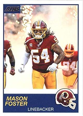 new concept ab737 fa8b0 Amazon.com: 2019 Score #197 Mason Foster Redskins NFL ...