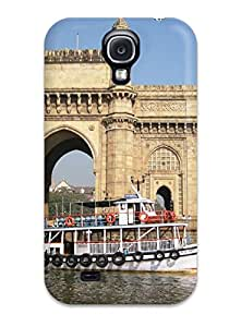 Hot Design Premium EJqpQ1351UVfzQ Tpu Case Cover Galaxy S4 Protection Case(gateway Of India Mumbai City High Resolution)