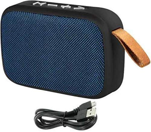 Praxan DW08 Portable Wireless Bass Sound Bluetooth Speaker Support with Aux,FM,USB & SD Card Compatible with All Devices (Multicolor)