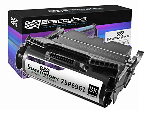 Speedy Inks Remanufactured Toner Cartridge Replacement for IBM 75P6961 High-Yield (Black)