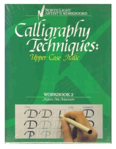 Upper Spindle - Calligraphy Techniques: Upper Case Italic (Workbook 2)