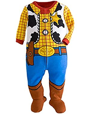 Toy Story Baby Boys' Woody Stretchie (12-18 Months)