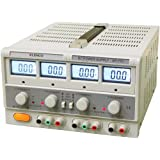 Elenco XP-770 Triple Output Power Supply, Dual 0-20 2A and 5-Volt 2A LCD Display