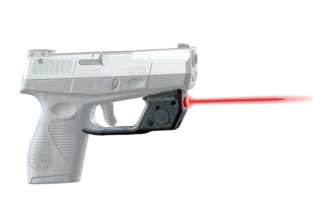 ArmaLaser Designed to fit Taurus 709 740 Slim TR18 Red Laser Sight with Grip Activation