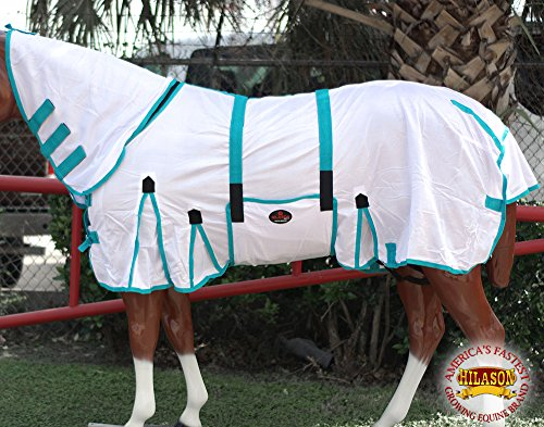 "HILASON 75"" Uv Protect Mesh Bug Mosquito Horse Fly Sheet Summer Spring from HILASON"
