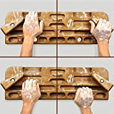 Yes4All New Version Wooden Hang Board/Climbing