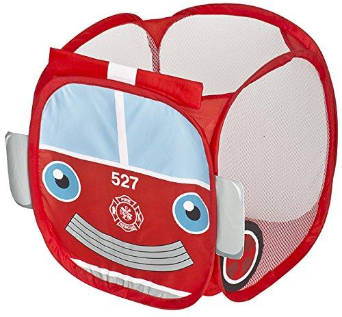 Pop Up Toy Storage (PRO-MART Kids Pop Up Organizer - Fire Truck)