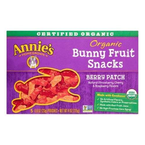 Annie's Organic Bunny Fruit Snacks, Berry Patch (Pack of 20) by Annie's Homegrown (Image #1)