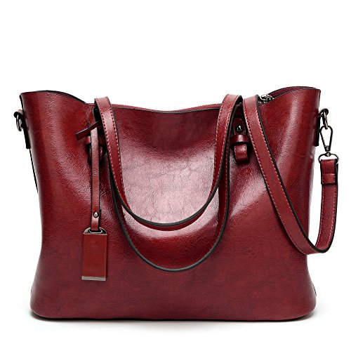JPFCAK Ms Bolsos De Hombro Bolso Simple Casual Tote Fashion C