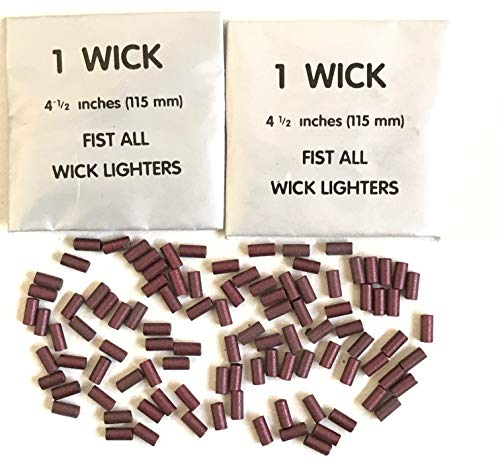 Lighter FLints 100 pcs and 2 Wicks Big Spark TM Petrol Replacement