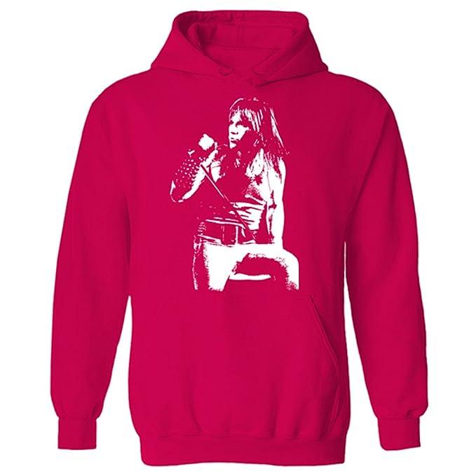 Para hombre Bruce Dickinson Iconic Rock Iron Maiden sudadera con capucha: Amazon.es: Ropa y accesorios
