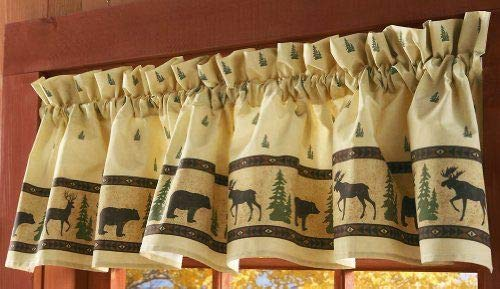 Woodland Curtain Valance