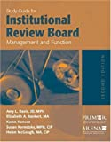 img - for Study Guide For Institutional Review Board Management And Function Paperback October 28, 2005 book / textbook / text book