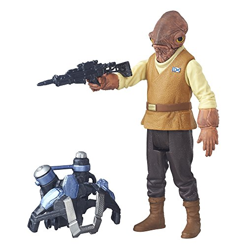 Star Wars: The Force Awakens Admiral Ackbar Action Figure 3.75 Inches