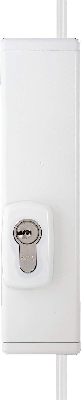 Swiss Sector 10041110 RSL100 - Candado de barra, color blanco