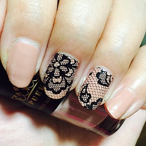 Amazon pueen 2015 nail art stamping plate celebration amazon pueen 2015 nail art stamping plate celebration collection lace blossom new invention super size all you can stamp full size stamping image prinsesfo Choice Image
