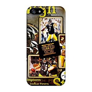 Hot Design Premium WfO3892fjfV Tpu Cases Covers Iphone 5/5s Protection Cases(pittsburgh Steelers)