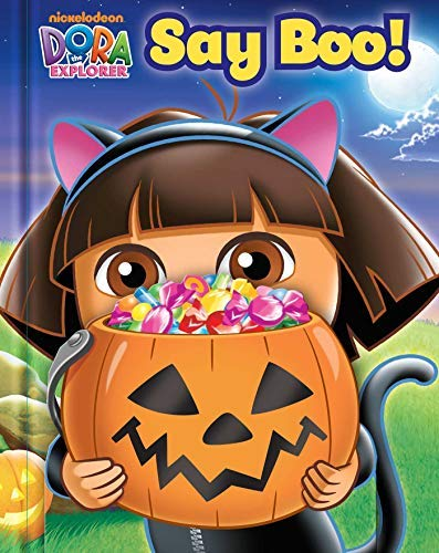 Dora the Explorer: Say Boo! (Guess Who! Book) -