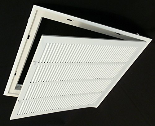 24 Quot X 24 Steel Return Air Filter Grille For 1 Quot Filter