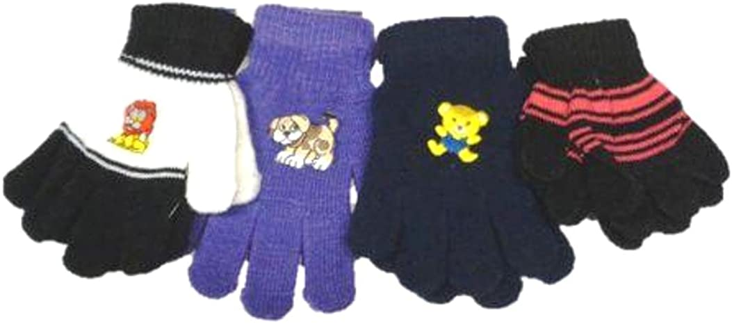 Set of Four Pairs Sona Magic Gloves for Infants and Toddlers Ages 1-4 Years