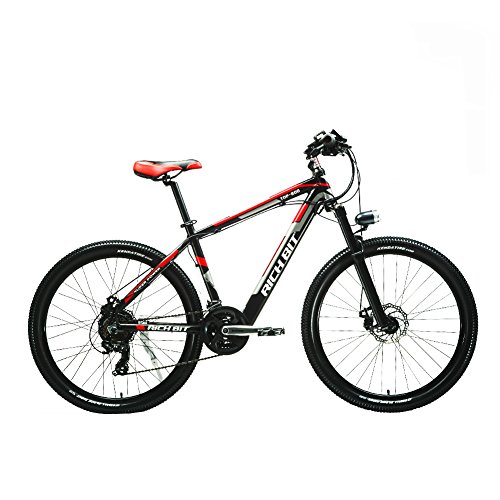 eBike_RICHBIT Electric Mountain Bike bicicleta eléctrica E-bike Ciclismo 250W 36V con batería oculta de iones de litio (verde): Amazon.es: Deportes y aire ...