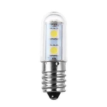 sdfghzsedfgsdfg Mini E14 1W 7 LED 5050 SMD Naturaleza/luz blanca cálida Para Frigorífico Máquina