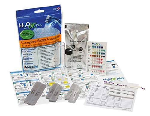 H2) OK Plus Complete Water Analysis Kit - 13 Drinking Water Status Tests