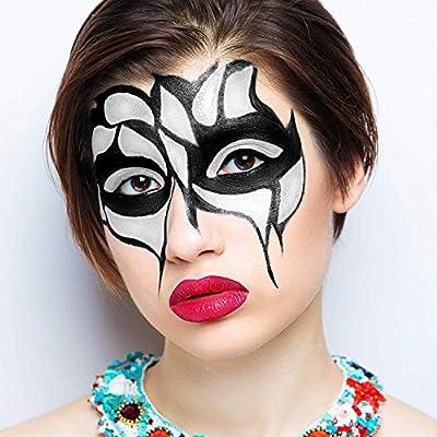 Mehron Makeup Detailz Face & Body Paint (.17 ounce) (White) : Childrens Art Paints : Beauty