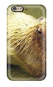 New Fashion Premium Tpu Case Cover For iphone 4 4s - Capybara (3D PC Soft Case)