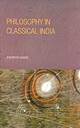 Philosophy in Classical India by Jonardon Ganeri (2014-08-28)