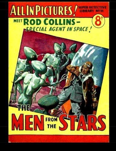 Read Online Super Detective Library #14 (B&W): The Men From Mars 1953 UK Comic PDF