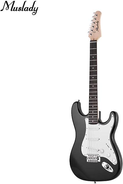 Kalaok Guitarra eléctrica De madera maciza Paulownia Body Maple ...