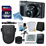 Canon PowerShot SX620 HS Digital Camera (Silver) + Transcend 32GB Memory Card + Point & Shoot Camera Case + Card Reader + Memory Card Wallet + LCD Screen Protectors + Complete DigitalAndMore Bundle