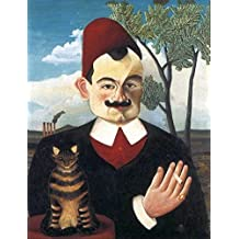 "Counted Cross Stitch Pattern: ""Portrait of Monsieur X"" by Henri Rousseau (The Great Artists Series)"