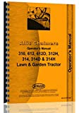 Allis Chalmers 314D Lawn & Garden Tractor Operators Manual
