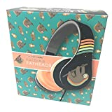 Folding Fatheads Rainbow Sloth Stereo Headphones